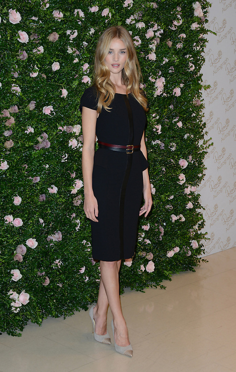 Rosie Huntingdon-Whiteley attends the launch for her lingerie collection for Marks & Spencer, 'Rosie for Autograph', London, UK. 30/08/2012 Anne-Marie Michel/CatchlightMedia
