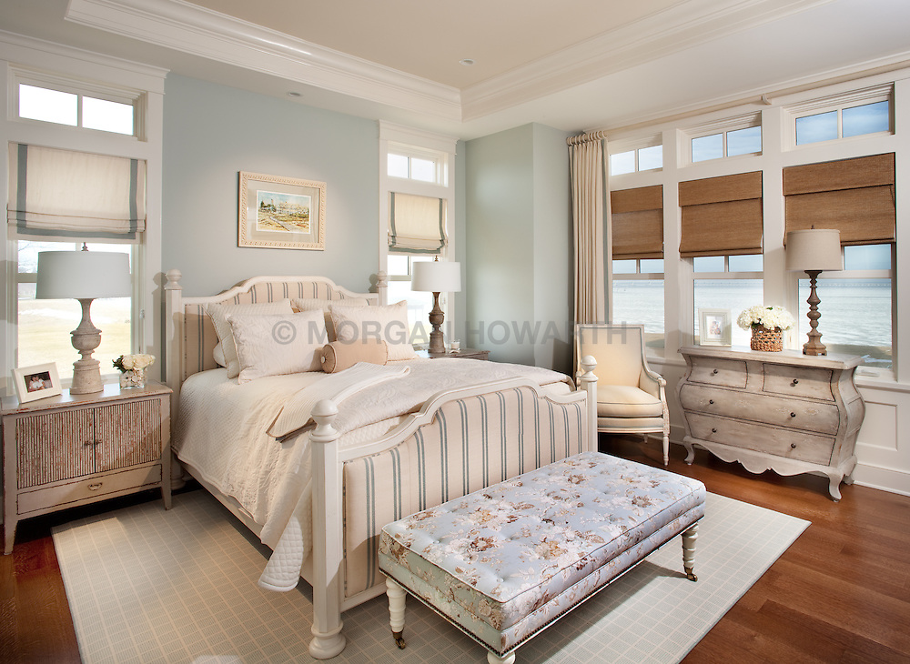 bedroom 5455 Tates Bank Rd Cambridge, MD Kristen Peakes interor designer Master Bedroom