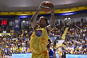 Ryan Hollins<br /> Fiat Torino - Mia Cantu<br /> Lega Basket Serie A 2016/2017<br /> Torino 26/03/2017<br /> Foto Ciamillo-Castoria