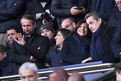 January 27, 2018 - Paris, France - ANNE HIDALGO (MAIRE DE PARIS) - NICOLAS SARKOZY - JEAN-CLAUDE BLANC  (Credit Image: © Panoramic via ZUMA Press)