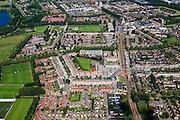 Nederland, Zuid-Holland, Rotterdam, 15-07-2012; Nieuwbouwwijk Zevenkamp (deelgemeente Prins Alexander), linksboven Zevenhuizerplas. ...luchtfoto (toeslag), aerial photo (additional fee required).foto/photo Siebe Swart