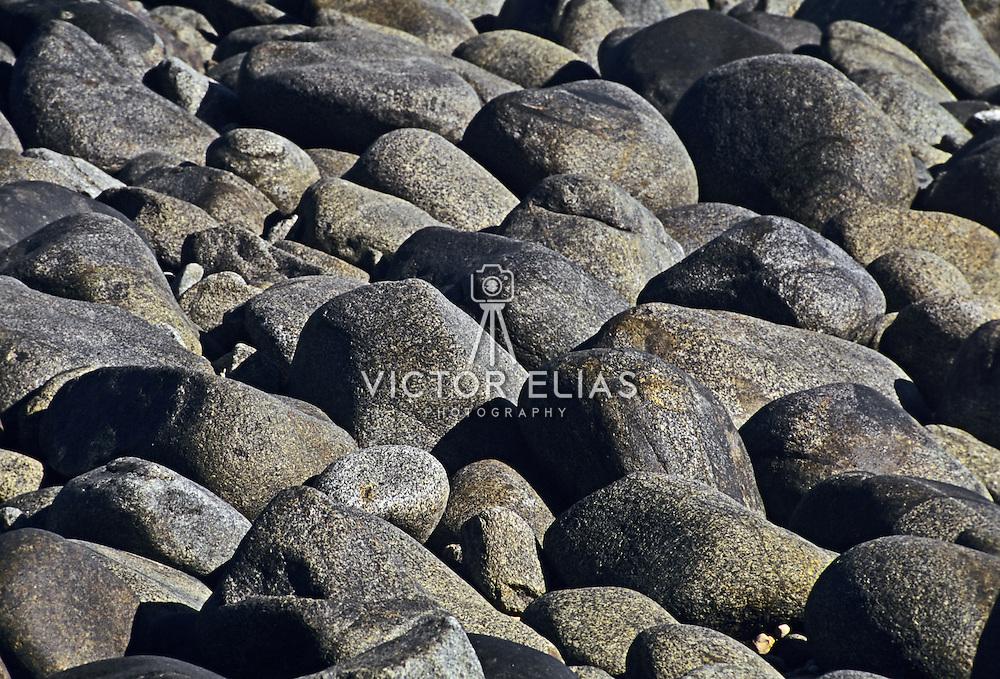 Rocks on the beach. Baja California Sur. Mexico.