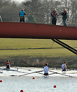 Eton, United Kingdom  General Views, GV's of the Bridge at the start end of the course. 2012 GB Rowing Trials, Dorney Lake. Near Windsor Berks Saturday  10/03/2012  [Mandatory Credit; Peter Spurrier/Intersport-images]
