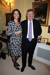 STUART & JILL CORBIN he is chief executive of the Cadogan Estates at a party to celebrate the 21st birthday of one of Richard & Basia Brigg's horses  Leopold, held at 35 Sloane Gardens, London W1 on 10th September 2007.<br /><br />NON EXCLUSIVE - WORLD RIGHTS