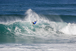 October 12, 2017 - Sebtastian Zietz of Hawaii advanced directly to Round Three of the 2017 Quiksilver Pro France after winning Heat 10 of Round One at Hossegor. (Credit Image: © WSL via ZUMA Press)
