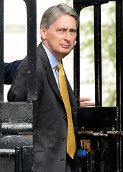 © Licensed to London News Pictures. 08/05/2012. Westminster, UK . Secretary of State for Defence PHILIP HAMMOND. Ministers on Downing Street today 8th May 2012. Photo credit : Stephen Simpson/LNP