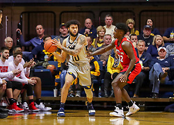 Dec 1, 2018; Morgantown, WV, USA; West Virginia Mountaineers guard Jermaine Haley (10) looks to pass during the first half against the Youngstown State Penguins at WVU Coliseum. Mandatory Credit: Ben Queen-USA TODAY Sports