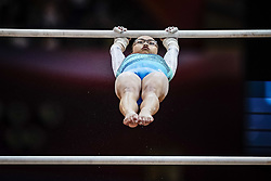 November 2, 2018 - Doha, Qatar - Morgan Hurd of United States   during  Uneven Bars for Women at the Aspire Dome in Doha, Qatar, Artistic FIG Gymnastics World Championships on 2 of November 2018. (Credit Image: © Ulrik Pedersen/NurPhoto via ZUMA Press)