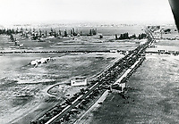 1920 Chaplin Airdrome(right) & DeMille Field #2 (left) at Wilshire Blvd. & Fairfax Ave.