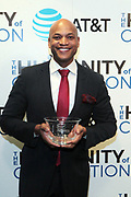 New York, NY-March 15: Author Wes Moore, CEO, The Robinhood Foundation attends the 2018 'Humanity of Connection' Awards Ceremony powered by AT&T and held at Jazz at Lincoln Center on March 15, 2018 in New York City. (Photo by Terrence Jennings/terrencejennings.com)