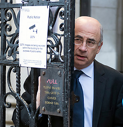 © Licensed to London News Pictures. 07/02/2018. London, UK. Sir BRIAN LEVESON PC, the President of the Queen's Bench Division, is seen leaving The High Court following a hearing for an appeal against the parole of serial rapist JOHN WORBOYS. London Mayor Sadiq Khan also urged Sir Brian Leveson and Mr Justice Garnham to allow judicial review action against the Parole Board. Photo credit: Ben Cawthra/LNP