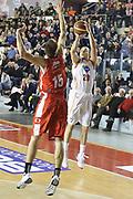 DESCRIZIONE : Roma Campionato Lega A 2013-14 Acea Virtus Roma Grissin Bon Reggio Emilia <br /> GIOCATORE :  Jimmy Baron<br /> CATEGORIA : three points<br /> SQUADRA : Acea Virtus Roma<br /> EVENTO : Campionato Lega A 2013-2014<br /> GARA : Acea Virtus Roma Grissin Bon Reggio Emilia <br /> DATA : 22/12/2013<br /> SPORT : Pallacanestro<br /> AUTORE : Agenzia Ciamillo-Castoria/M.Simoni<br /> Galleria : Lega Basket A 2013-2014<br /> Fotonotizia : Roma Campionato Lega A 2013-14 Acea Virtus Roma Grissin Bon Reggio Emilia <br /> Predefinita :
