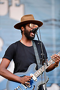 FRANKLIN, TN - SEPTEMBER 23: Gary Clark, Jr. performs during Pilgrimage Music & Cultural Festival on September 23, 2017 in Franklin, Tennessee. (Photo by Mickey Bernal/Getty Images for Pilgrimage Music & Cultural Festival)