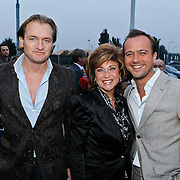 NLD/Amsterdam/20101007 - Europesche premiere Cirque du Soleil Totem, Christiaan Looman, Netty van der Veer en Geert Hoes