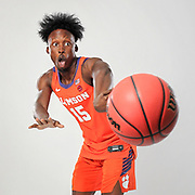 Clemson's John Newman III brings a lot of talent, energy and personality when he's on the court. Photographed for ESPN in Charlotte. ©Travis Bell Photography