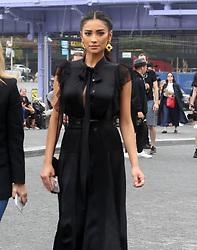 September 14, 2018 - New York City, New York, USA - 9/12/18.Shay Mitchell is seen attending the Michael Kors Fashion Show during New York Fashion Week in New York City..(NYC) (Credit Image: © Starmax/Newscom via ZUMA Press)