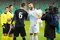 Bostjan Cesar during friendly football match between National teams of Slovenia and Belarus, on March 27, 2018 in SRC Stozice, Ljubljana, Slovenia. Photo by Ziga Zupan / Sportida