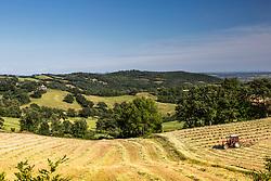 Farming in Tuscany Italy