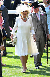 Duchess of Cornwall during day one of Royal Ascot at Ascot Racecourse, London