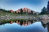 Spray Park Trail at Mount Rainier National Park