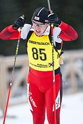 11.12.2010, Biathlonzentrum, Obertilliach, AUT, Biathlon Austriacup, Sprint Men, im Bild David Komatz (AUT, #85). EXPA Pictures © 2010, PhotoCredit: EXPA/ J. Groder