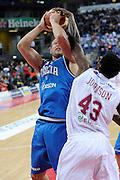 DESCRIZIONE : Pesaro Edison All Star Game 2012<br /> GIOCATORE : Marco Cusin<br /> CATEGORIA : stoppata tiro<br /> SQUADRA : Italia Nazionale Maschile<br /> EVENTO : All Star Game 2012<br /> GARA : Italia All Star Team<br /> DATA : 11/03/2012 <br /> SPORT : Pallacanestro<br /> AUTORE : Agenzia Ciamillo-Castoria/C.De Massis<br /> Galleria : FIP Nazionali 2012<br /> Fotonotizia : Pesaro Edison All Star Game 2012<br /> Predefinita :