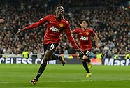 Real Madrid v Manchester United 130213