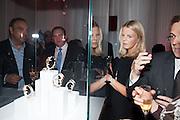 LAURA NADIR, Cartier Tank Anglaise launch. Kensington Palace Orangery, London.  19 April 2012.