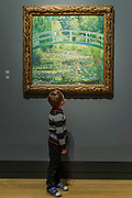 The Water Lily Pond, 1899  -The Credit Suisse Exhibition: Monet & Architecture a new exhibition in the Sainsbury Wing at The National Gallery.