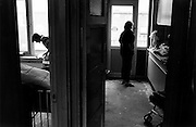 teenage parents living in squalor, Amsterdam Bos en Lommer,1987