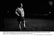 Paidi OSe on a night training excerise with Kerry..Picture by Don MacMonagle