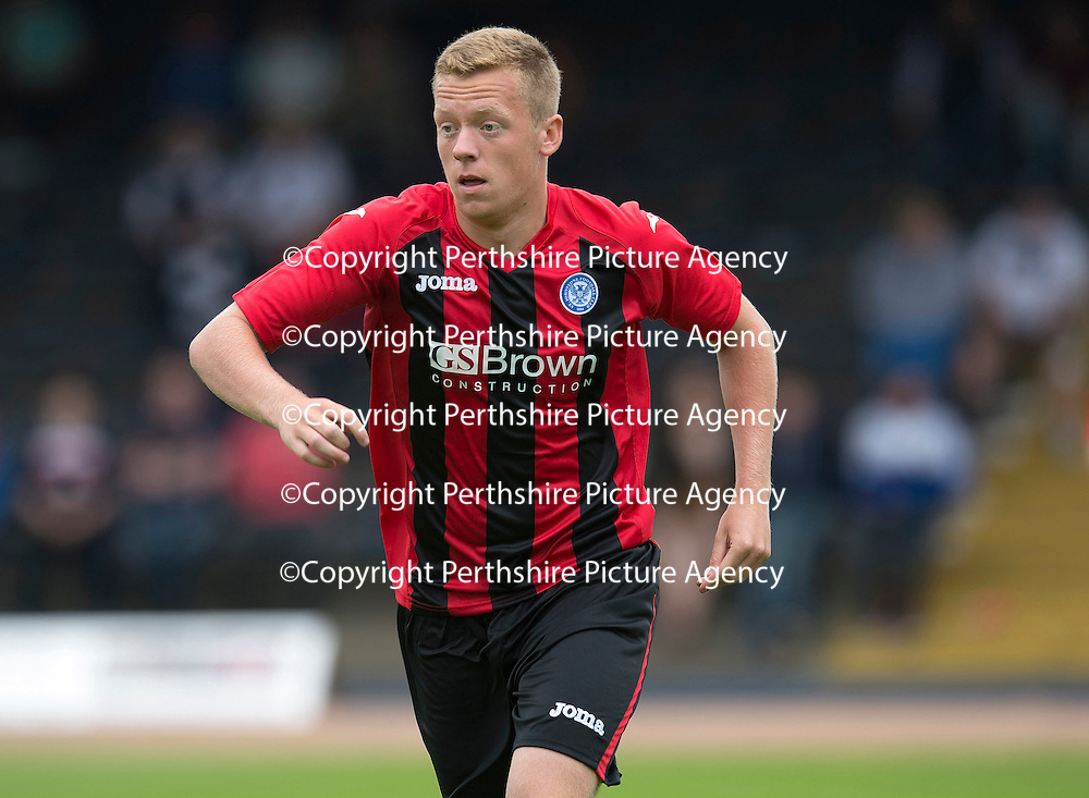 Dundee v St Johnstone....21.07.13  Pre-Season Friendly<br /> St Johnstone trialist Scott Brown<br /> Picture by Graeme Hart.<br /> Copyright Perthshire Picture Agency<br /> Tel: 01738 623350  Mobile: 07990 594431