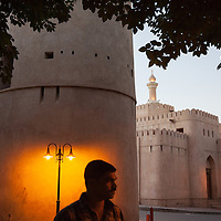 The ancient city of Nizwa, once the capital of Oman in the 6th and 7th centuries A.D and a former vital trading center.