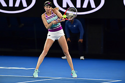 January 24, 2019 - Melbourne, Australia - Australian Open - Danielle Collins - USA (Credit Image: © Panoramic via ZUMA Press)