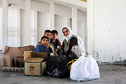 Kita and his grandchildren Sadik, Zeman and Muhammed are going to Cetinkaya District of Sivas to meet his children who went there to work. July 13, 2016.<br /> The Southern Kurtalan Train Express route, starting from Kurtalan, stops in Diyarbakir, Malatya, Sivas, Kayseri and Ankara from summer to fall. This train route is mostly used by seasonal workers that are living in east Turkey, but are working on the western part of the country from spring to fall. Photo by Aylin Kizil/NARphotos/ABACAPRESS.COM