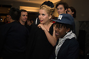 PALOMA FAITH; AYISHAT AKANBI, Tom Ford cocktail and preview of Tom Ford's Spring-Summer 2016 Menswear Collection. 201-202 Sloane St. London. 14 June 2015
