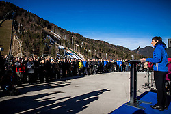Maja Makovec Brencic, Minister of Education, Science and Sport at Official opening of the new Nordic centre Planica, on December 11, 2015 in Planica, Slovenia. Photo by Vid Ponikvar / Sportida