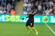 Bacary Sagna of Manchester city in action .Premier league match, Swansea city v Manchester city at the Liberty Stadium in Swansea, South Wales on Saturday 24th September 2016.<br /> pic by Andrew Orchard, Andrew Orchard sports photography.