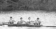 London, Great Britain.<br /> London RC. M4- competing in the <br /> 1986 Fours Head of the River Race, Reverse Championship Course Mortlake to Putney. River Thames. Saturday, 15.11.1986<br /> <br /> [Mandatory Credit: Peter SPURRIER;Intersport images] 15.11.1986