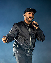 August 10, 2018 - San Francisco, California, U.S - THE WEEKND (ABEL TESFAYE) during Outside Lands Music Festival at Golden Gate Park in San Francisco, California (Credit Image: © Daniel DeSlover via ZUMA Wire)