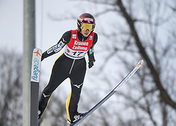 02.02.2019, Energie AG Skisprung Arena, Hinzenbach, AUT, FIS Weltcup Ski Sprung, Damen, Wertungsdurchgang, im Bild Kaori Iwabuchi (JPN) // Kaori Iwabuchi (JPN) during the woman's Competition Jump of FIS Ski Jumping World Cup at the Energie AG Skisprung Arena in Hinzenbach, Austria on 2019/02/02. EXPA Pictures © 2019, PhotoCredit: EXPA/ Reinhard Eisenbauer