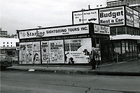 1977 Starline Sightseeing Tours building on Hollywood Blvd.