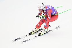 January 19, 2018 - Cortina D'Ampezzo, Dolimites, Italy - Ragnhild Mowinckel of Norway competes  during the Downhill race at the Cortina d'Ampezzo FIS World Cup in Cortina d'Ampezzo, Italy on January 19, 2018. (Credit Image: © Rok Rakun/Pacific Press via ZUMA Wire)