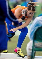 12-08-2016 BRA: Olympic Games day 7, Rio de Janeiro<br /> Melissa Boekelman probeert zich te kwalificeren voor de finale kogelstoten