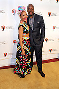 New York, NY-June 14: (L-R) Sade Lythcott, CEO, National Black Theater and Actor Malik Yoba attend the 2017 Teer Spirit Awards Gala held at the National Black Theater  on June 14, 2017 in Harlem, New York City. National Black Theatre [NBT] was founded in 1968 in the heart of Harlem by the late Dr. Barbara Ann Teer, an award winning, visionary artist and entrepreneur. With a distinguished history of innovative work in its community, NBT is among the oldest Black Theaters in the country, and amongst the longest owned and operated by a woman of color. NBT is also a pioneer as the first to establish revenue generating Black art complex located at 2031 5th Avenue in Harlem, NY.  NBT's achievements reflect Dr. Teer's lifelong commitment to community service through the arts. She believed whole-heartedly in the power of Black Theatre to uplift, strengthen, and heal Black communities on a local and on a national level. (Photo by Terrence Jennings/terrencejennings.com)