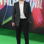Craig Roberts arrives at The Phantom of the Open at BFI London Film Festival 2021, 12 October 2021 Southbank Centre, Royal Festival Hall, London, UK.
