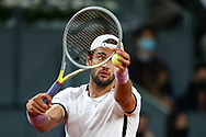 Matteo Berrettini of Italy during the Men's Singles Final match against Alexander Zverev of Germany at the Mutua Madrid Open 2021, Masters 1000 tennis tournament on May 9, 2021 at La Caja Magica in Madrid, Spain - Photo Oscar J Barroso / Spain ProSportsImages / DPPI / ProSportsImages / DPPI