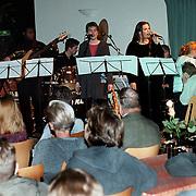Muziekoptreden tijdens Take a Seat in het Visnet Huizen