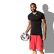 Basketball Life:  Studio shoot with basketball player, Damon Harvin in Downtown Los Angeles, California on January 28, 2018.  ©Michael Der, All Rights Reserved.  Please contact Michael Der for all licensing requests.