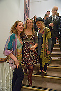 CAROLINE APFEL; LYNN SLATER,; DAWN MCDANIEL;  Preview party for the Versace Sale.  The contents of fashion designer Gianni Versace's villa on Lake Como. Sothebys. Old Bond St. London. 16 March 2009.  *** Local Caption *** -DO NOT ARCHIVE -Copyright Photograph by Dafydd Jones. 248 Clapham Rd. London SW9 0PZ. Tel 0207 820 0771. www.dafjones.com<br /> CAROLINE APFEL; LYNN SLATER,; DAWN MCDANIEL;  Preview party for the Versace Sale.  The contents of fashion designer Gianni Versace's villa on Lake Como. Sothebys. Old Bond St. London. 16 March 2009.